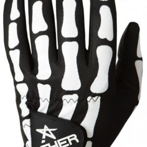 Asher Death Grip Black Golfhandschuh Herren