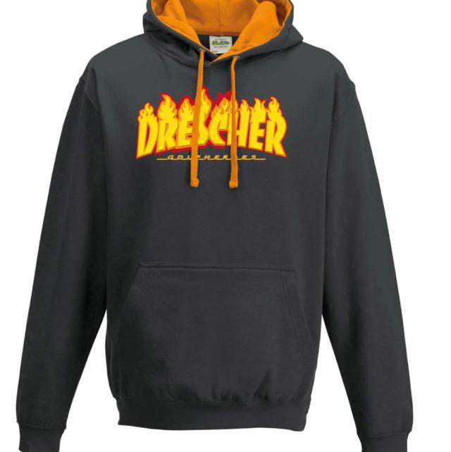 hoodie drescher unisex black