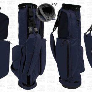 Sunday Golf Bag dunkelblau - Golf Tragebag leicht von Club Glove