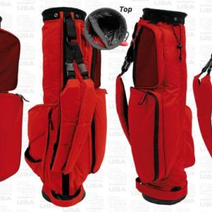 Sunday Golf Bag rot - Golf Tragebag leicht von Club Glove