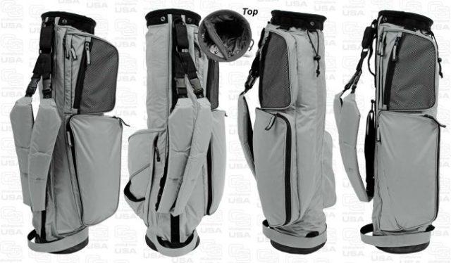 Sunday Golf Bag - Golf Tragebag leicht von Club Glove grau