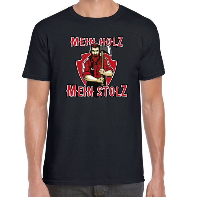 t-shirt mein holz