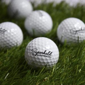 superheld golfball