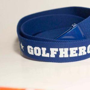 Gürtel blau/weiss Golfhose GolfHeroes