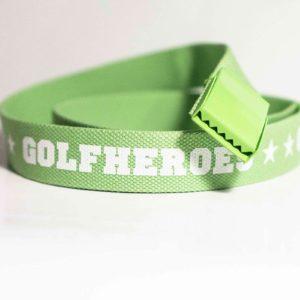 Gürtel guen/weiss Golfhose GolfHeroes
