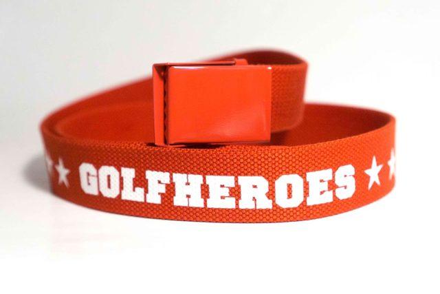 Gürtel rot/weiss Golfhose GolfHeroes