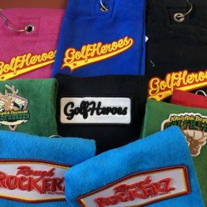 golfheroes handtücher