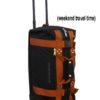Mini Rolling Duffle Travel Bag mit Rollen