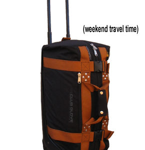 Mini Rolling Duffle Travel Bag mit Rollen
