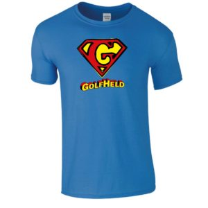 T-Shirt Golfheld/Superman GOLFHEROES