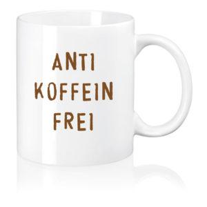 Kaffee-Tasse antikoffeinfrei