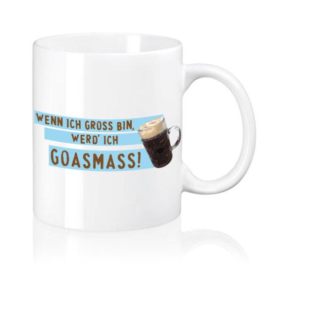 Kaffeetasse Goassmass