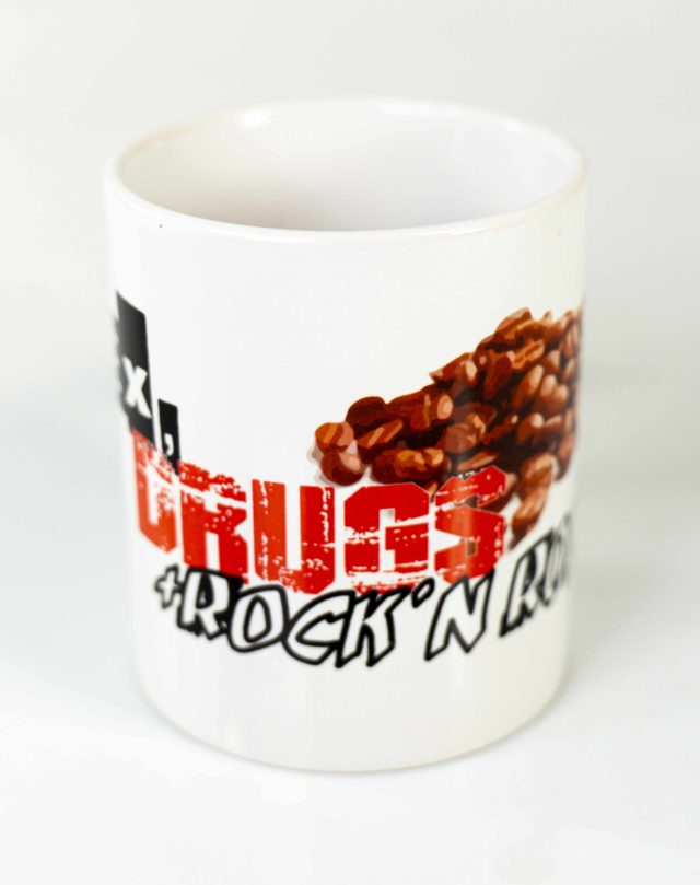 Kaffeetasse sex drugs rocknroll
