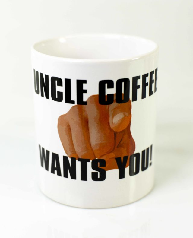 Kaffeetasse uncle coffee