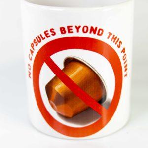 Kaffeetasse keine Kapseln