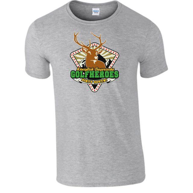 """T-Shirt """"GolfHeroes el classico"""""""