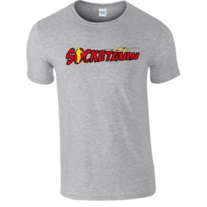 "T-Shirt ""Socketman"" GolfHeroes"